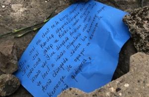 Παραλία Τραπεζούντας, 16 Ιανουαρίου 2019: Λουλούδια και μηνύματα για τους 353.000 νεκρούς της Γενοκτονίας