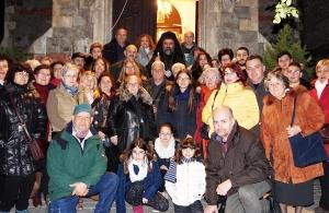 Τα Άγια Θεοφάνεια γιόρτασε στη Σμύρνη η Εύξεινος Λέσχη Ποντίων Νάουσας (φωτο)