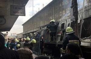 Τουλάχιστον 20 νεκροί από πυρκαγιά στον κεντρικό σιδηροδρομικό σταθμό στο Κάιρο