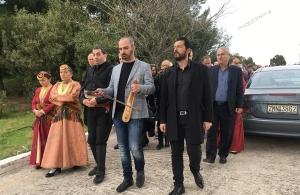 Υπό τους ήχους της ποντιακής λύρας κηδεύτηκε ο επίτιμος πρόεδρος των «Κομνηνών» Χαλκίδας, Βίκτωρας Δαμιανίδης