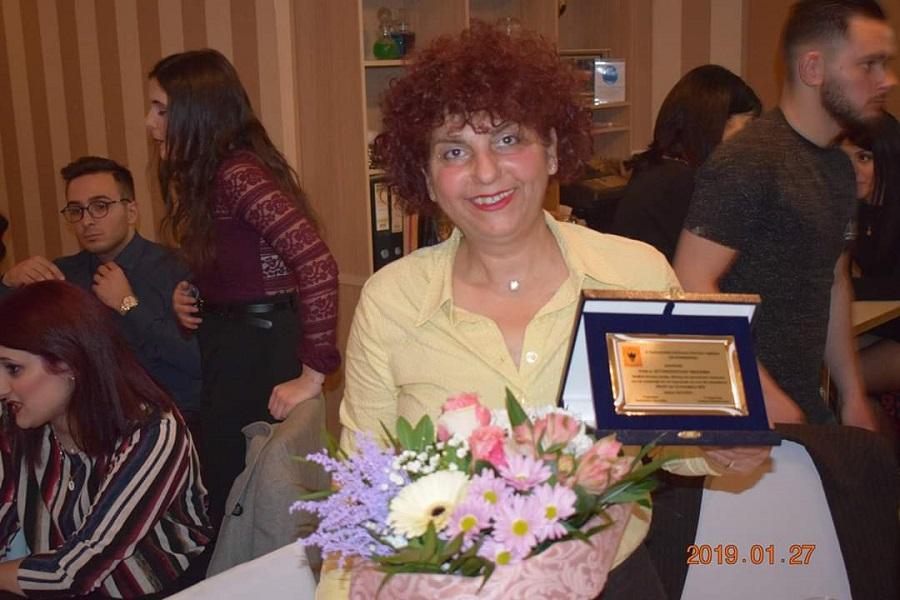 Βραβεία δύναμης και αγωνιστικού πνεύματος απονεμήθηκαν στην καρκινοπαθή αθλήτρια Βασιλική Εγγονοπούλου (βίντεο)
