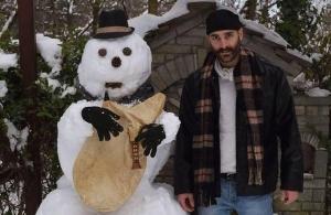 Επανεμφανίστηκε ο τουλουμτζής χιονάνθρωπος στην Αγάπη Γρεβενών;