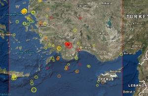 Ισχυρός σεισμός ταρακούνησε σήμερα την Τουρκία