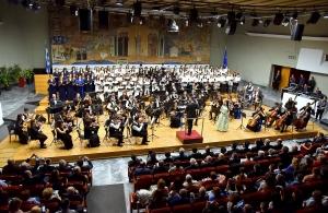 «Τράνταξε» τη Θεσσαλονίκη η Συμφωνική Ορχήστρα Νέων Ελλάδος (βίντεο)