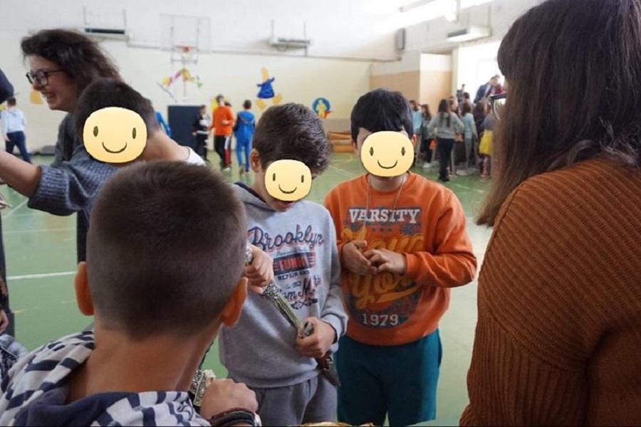 Αλεξανδρούπολη: Μαθητές Ε' και ΣΤ' τάξης του 4ου Δημοτικού Σχολείου έμαθαν για τον Πόντο (φωτο)