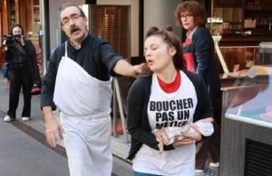 Γαλλία: Στη φυλακή vegan που βανδάλισαν κρεοπωλεία