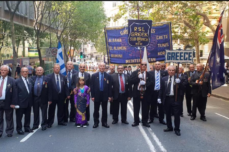 Οι Πόντιοι τίμησαν την ημέρα των Άνζακ στην Αυστραλία