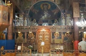 Καταστρέφονται οι αγιογραφίες του Φώτη Κόντογλου στον ιερό ναό του Αγίου Χαράλαμπου στο Πεδίον του Άρεως (φωτο)
