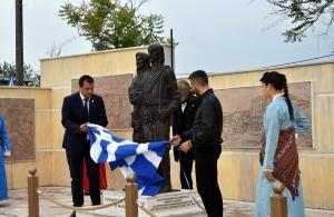 Έγιναν χθες τα αποκαλυπτήρια του μνημείου Γενοκτονίας των Ελλήνων του Πόντου στα Άνω Λιόσια Ατικής (φωτο)