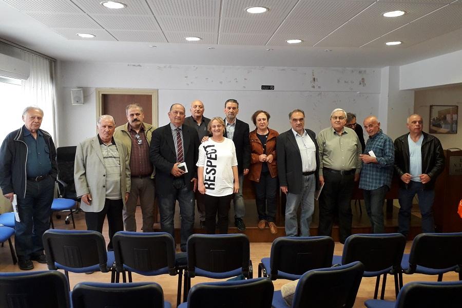 Το νέο διοικητικό συμβούλιο του Πανελλήνιου Συνδέσμου Ποντίων Εκπαιδευτικών