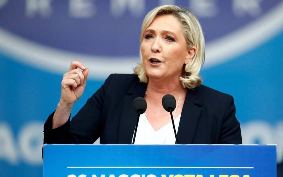 Ευρωεκλογές 2019: Πρώτη η Λεπέν στη Γαλλία, δεύτερος ο Μακρόν