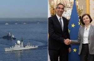 Απάντηση στην Τουρκία με στρατιωτική συμφωνία Γαλλίας-Κύπρου