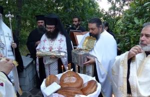 Με λαμπρότητα τιμήθηκε και φέτος η εορτή της ανακομιδής των λειψάνων της Οσίας Σοφίας της Κλεισούρας
