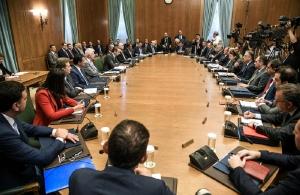 Μητσοτάκης στους υπουργούς: Ο κόσμος θέλει έργα, όχι λόγια (φωτο, βίντεο)