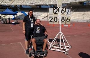 Στα 100 χρόνια από τη Γενοκτονία των Ποντίων, αφιέρωσε ο παραολυμπιονίκης Θανάσης Κωνσταντινίδης το παγκόσμιο ρεκόρ του