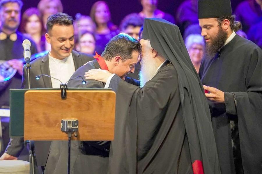 H σύζευξη της ποντιακής λύρας με τα τραγούδια του Μίκη Θεοδωράκη στην Βέροια