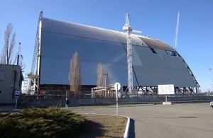 Ο εντυπωσιακός «τάφος» του αντιδραστήρα του Τσέρνομπιλ (φωτο,βίντεο)