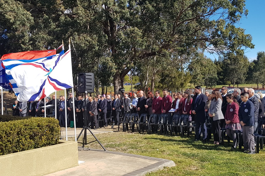 Για ακόμη μια φορά οι Πόντιοι της Αυστραλίας έδωσαν το παρών στις εκδηλώσεις μνήμης για την Γενοκτονία των Ασσυρίων