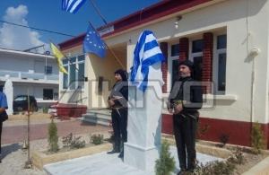Έγιναν τα αποκαλυπτήρια της προτομής του Πόντιου πολιτικού Βασίλη Ιντζέ στο Στρυμονοχώρι Σερρών