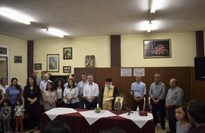 Με αγιασμό ξεκίνησε η νέα πολιτιστική περίοδος στην Ένωση Ποντίων Πιερίας