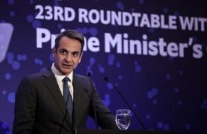 Μητσοτάκης: «Αναστολή ΦΠΑ στις οικοδομές — Άδικες οι χρεώσεις στις τραπεζικές συναλλαγές»