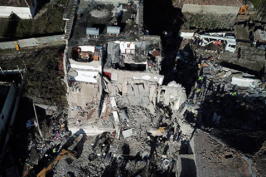 Φονικός σεισμός στην Αλβανία: Πλάνα από drone αποτυπώνουν το μέγεθος της καταστροφής