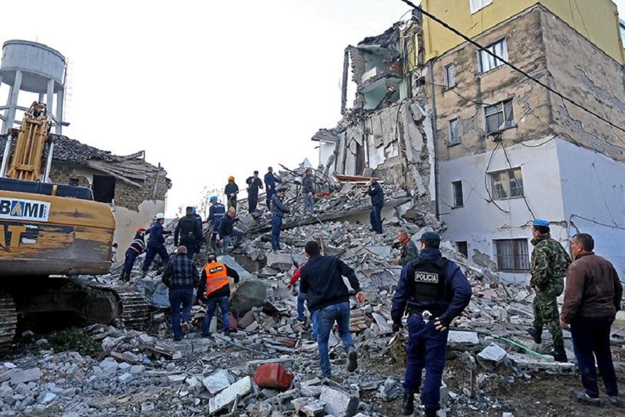 Φονικός σεισμός 6,4 Ρίχτερ στην Αλβανία: Τουλάχιστον 13 οι νεκροί, 600 οι τραυματίες
