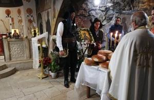 Η Εύξεινος Λέσχη Ποντίων Νομού Ηρακλείου τίμησε τον Πόντιο Όσιο Νίκων τον «Μετανοείτε»