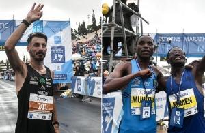 37ος Μαραθώνιος: Δυο Κενυάτες και ένας Έλληνας στο βάθρο των νικητών (φωτο)