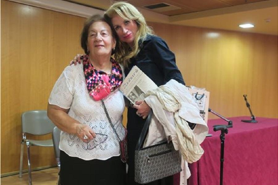 Με το πρώτο βραβείο ποίησης στην ποντιακή διάλεκτο τιμήθηκε η Νίνα Αλέξη