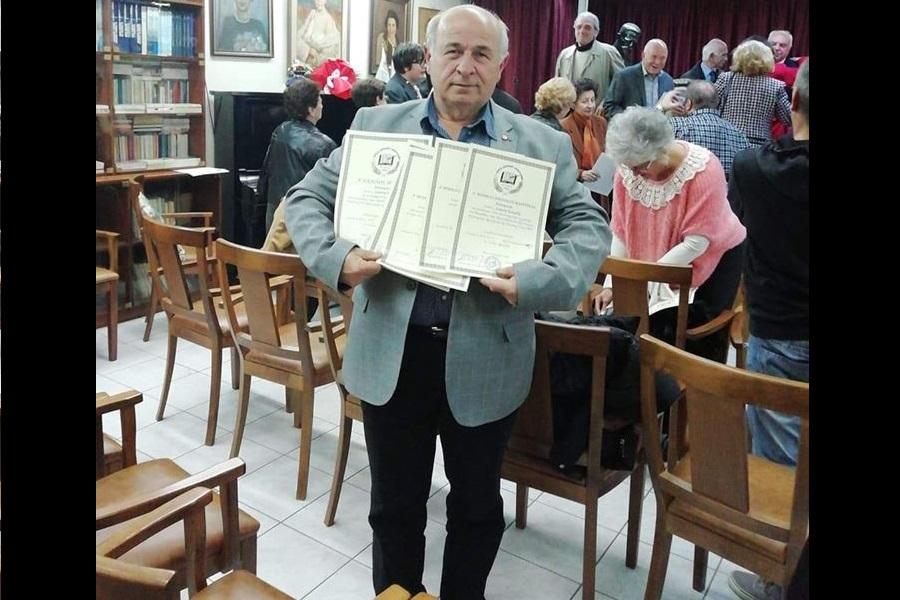 Σάρωσε πάλι ο «Πόντιος» στα βραβεία του Πανελλήνιου και Παγκυπρίου Διαγωνισμού Λογοτεχνών 2019