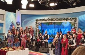 Ο «Φάρος» Αγίας Βαρβάρας στο OPEN TV (φωτο)