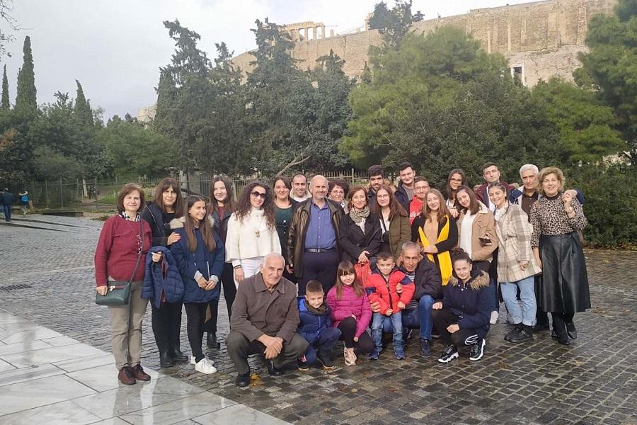 Η Εύξεινος Λέσχη Ποντίων Νάουσας στην Αθήνα