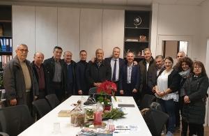 Συνάντηση της Ένωσης Ποντίων Πιερίας με τον δήμαρχο Κατερίνης