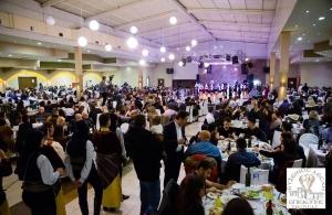 Κατάμεστο το κτήμα Γκαντίδη στον ετήσιο χορό της Ευξείνου Λέσχης Επισκοπής Νάουσας