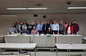 Σε μια κατάμεστη αίθουσα πραγματοποιήθηκε η συνεδρίαση του ΔΣ της Παμποντιακής Ομοσπονδίας Ελλάδος