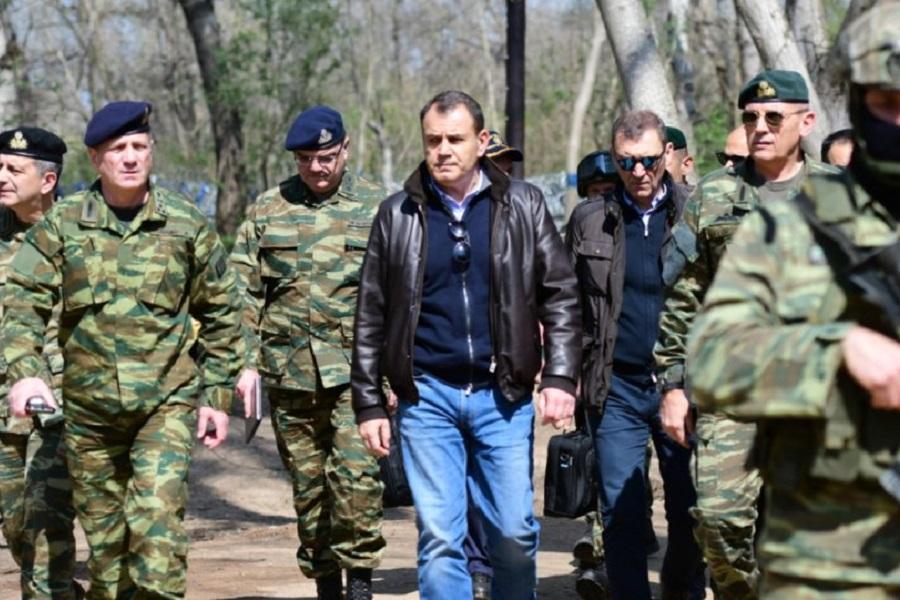 Παναγιωτόπουλος από τον Έβρο: «Δεν λήγει ο συναγερμός, οι δυνάμεις παραμένουν σε εγρήγορση»