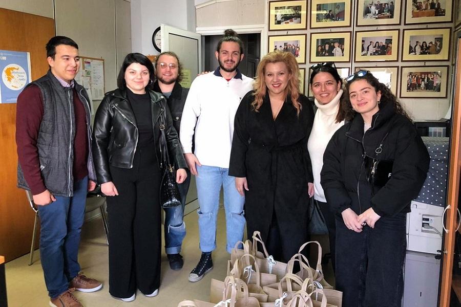 Επίσκεψη της Περιφερειακής Επιτροπής Νεολαίας Κεντρικής Μακεδονίας και Θεσσαλίας της ΠΟΕ στον Σύλλογο Καρκινοπαθών Πιερίας