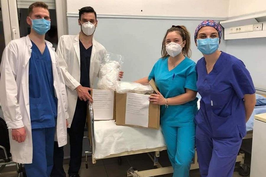 9 Ποντιακοί Φοιτητικοί Σύλλογοι έκαναν δωρεά μάσκες στο Γ.Ν. Καστοριάς