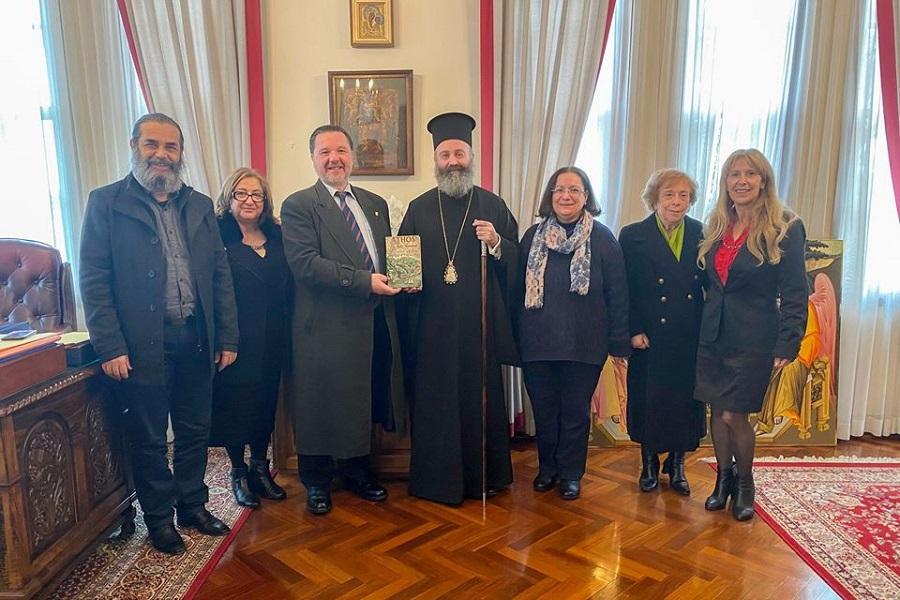 Συνάντηση του Αρχιεπισκόπου Αυστραλίας με το ΔΣ του Συλλόγου Ελληνοαυστραλών Εκπαιδευτικών Νέας Νότιας Ουαλίας