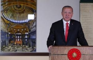 Διάγγελμα Ερντογάν: «Στις 24 Ιουλίου το τζαμί της Αγιάς Σοφιάς ανοίγει για προσευχή»
