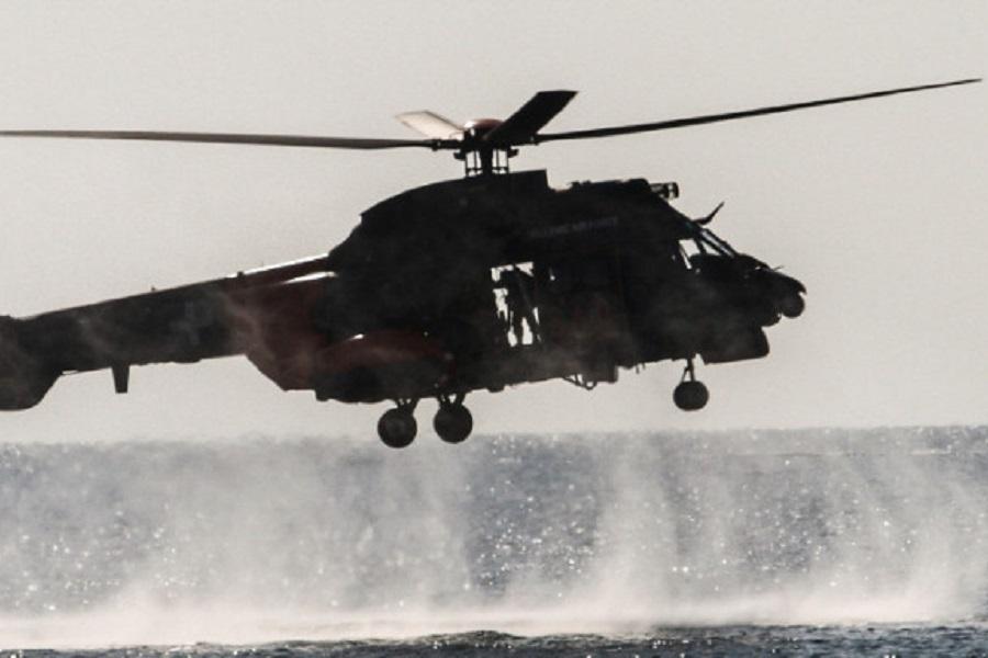Χάλκη: Τουρκική ακταιωρός προσπάθησε να «τυφλώσει» Super Puma και να εμβολίσει σκάφος του Λιμενικού