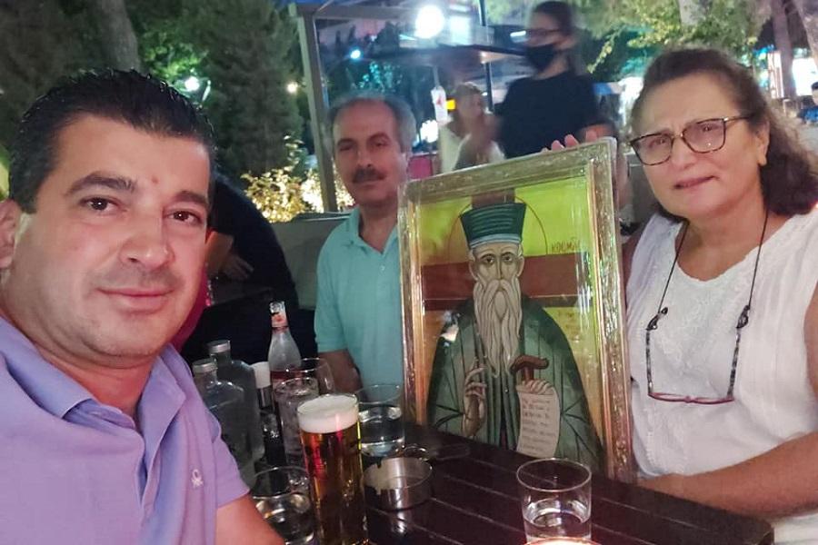 Η πρόεδρος της «Νέας Τραπεζούντας» Ελευσίνας έκανε δωρεά στις «Αξέχαστες Πατρίδες»