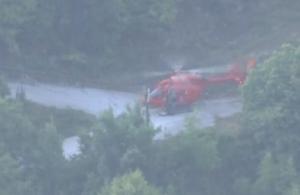 Κακοκαιρία «Ιανός»: Με ελικόπτερο απεγκλωβίστηκαν οι πρώτοι από τους 40 στην Οξυά (βιντεο)