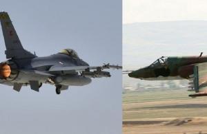 Τουρκικό F-16 κατέριψε αρμενικό Su-25 με πύραυλο «Amraam»