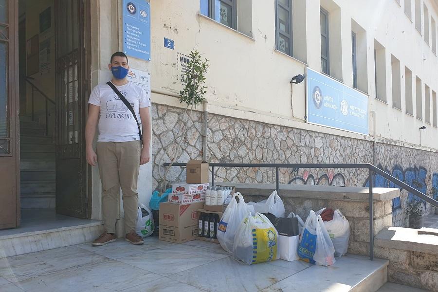 Η Ένωση Ποντίων Νίκαιας-Κορυδαλλού δίπλα στους σεισμόπληκτους της Σάμου