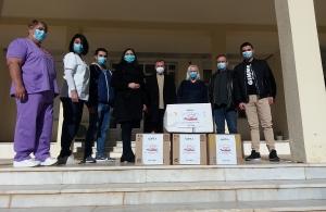 Δωρεά Υγειονομικού υλικού στο Γενικό Νοσοκομείο Κιλκίς από τους «Αργοναύτες» Κιλκίς