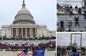 Χάος στις ΗΠΑ με την εισβολή στο Καπιτώλιο: Οι 4 ώρες που συγκλόνισαν τον κόσμο (φωτο, βίντεο)
