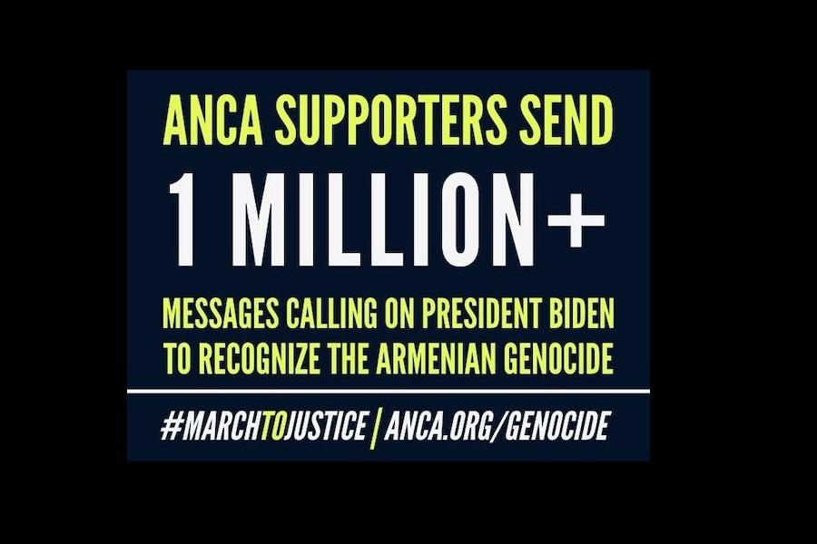Ένα εκατομμύριο μηνύματα έστειλαν οι Αρμένιοι της Αμερικής στον Λευκό Οίκο για την αναγνώριση της γενοκτονίας