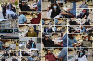 Ξεπέρασε κάθε προσδοκία η Εθελοντική Αιμοδοσία της Ένωσης Ποντίων Πιερίας